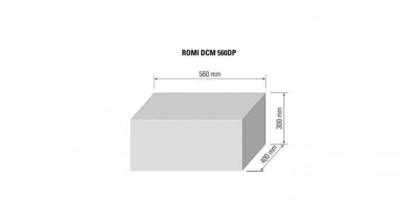 CAPACIDADES LINHA DCM 560DP