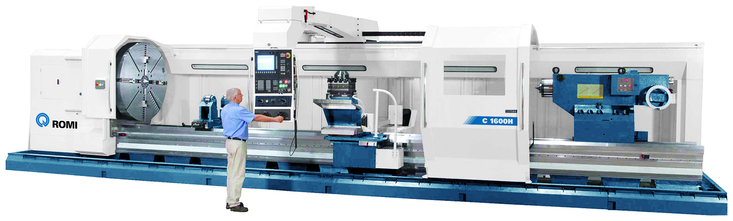 Romi - Heavy Duty CNC Lathes News Release - High Resolution Image